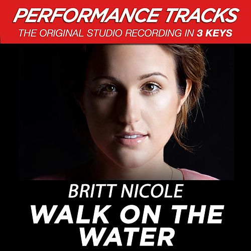 Play & Download Walk On The Water (Premiere Performance Plus Track) by Britt Nicole | Napster