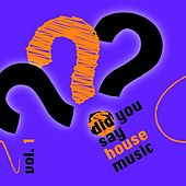 Play & Download Did you say house music? vol. 1 by Various Artists | Napster