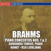 Brahms: Piano Concertos by Anton Nanut