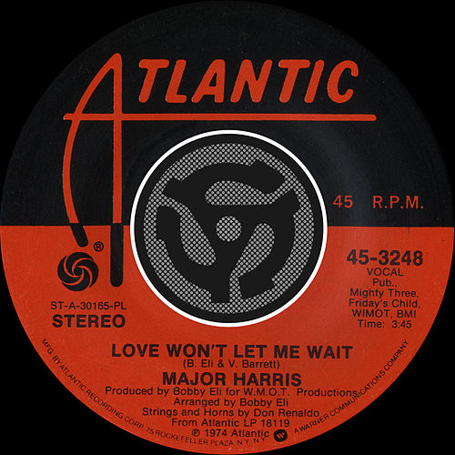 Play & Download Love Won't Let Me Wait / After Loving You [Digital 45] by Major Harris | Napster