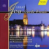 Great Joy - Renaissance And Baroque Christmas Music for Brass by Various Artists