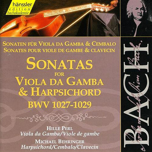 Bach, J.S.: Sonatas for Viola Da Gambe and Harpsichord, Bwv 1027-1029 by Michael Behringer