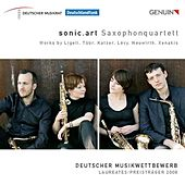 Ligeti, G.: 6 Bagatelles / Tuur, E.-S.: Lamentatio / Katzer, G.: Wie Ein Hauch, Doch Manchmal / Levy, F.: Durch by Sonic Art Saxophone Quartet
