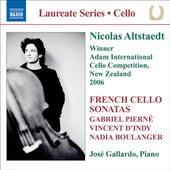 Play & Download Altstaedt, Nicolas - French Cello Sonatas by Jose Gallardo | Napster