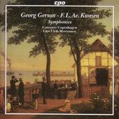 Gerson: Overture in D Major / Symphony in E Flat Major / Kunzen: Symphony in G Minor by Lars Ulrik Mortensen
