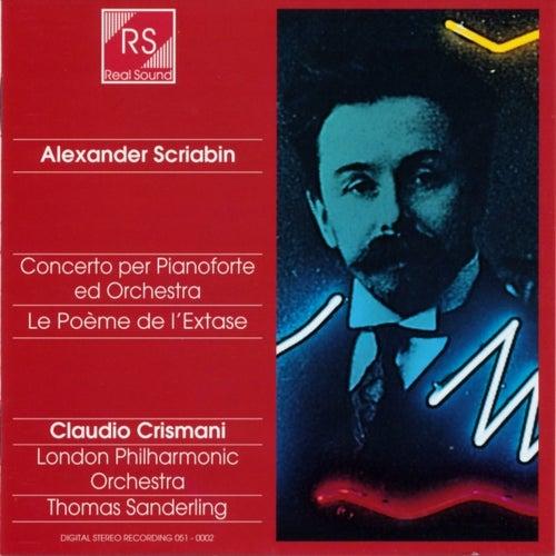 Scriabin: Piano concerto / Le poème de l'extase by Claudio Crismani