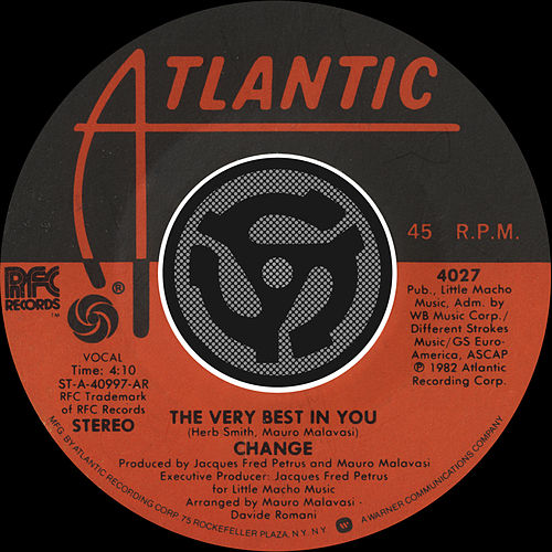 The Very Best In You / You're My Girl [Digital 45] by Change