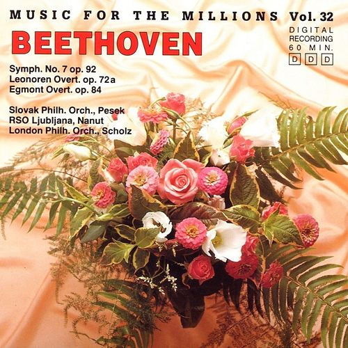 Play & Download Music For The Millions Vol. 32 - Ludwig van Beethoven by Various Artists | Napster