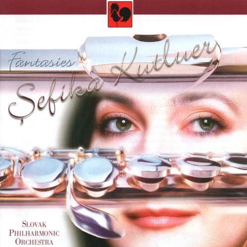 Gabriel Fauré, Johann Sebastian Bach, Sergei Rachmaninov, A. F. Doppler: Fantasies for Flute & Orchestra by Sefika Kutluer