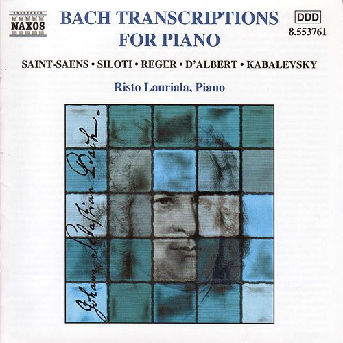 Play & Download Bach Transcriptions For Piano by Johann Sebastian Bach | Napster