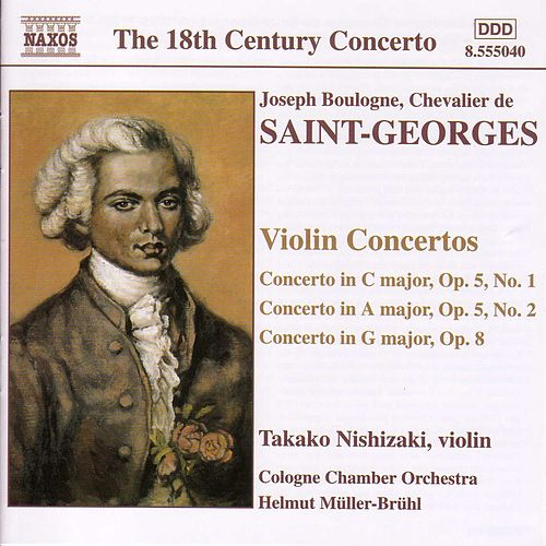 Play & Download Violin Concertos by Joseph Boulogne, Chevalier de Saint-Georges | Napster