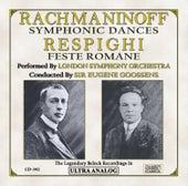 Play & Download Rachmaninoff: Symphonic Dances, For Orchestra Op. 45 & Respighi: Feste Romane (Roman Festivals), Symphonic Poem, P. 157 by London Symphony Orchestra | Napster