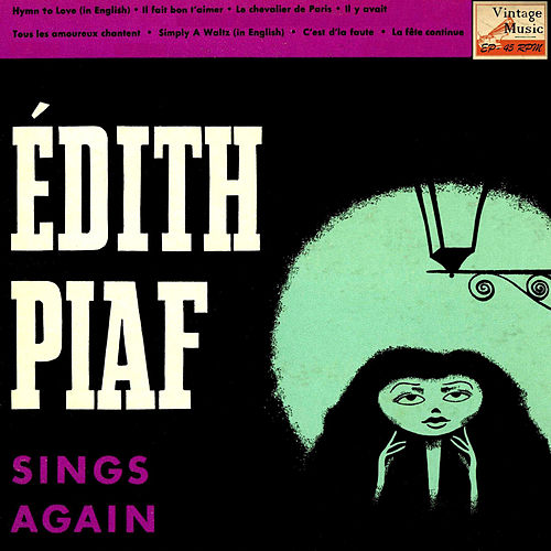 Vintage French Song Nº 81 - EPs Collectors, 'Sing Again' by Edith Piaf