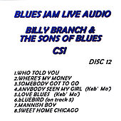 Blues Jam Live Audio: Billy Branch & The Sons Of Blues by Billy Branch