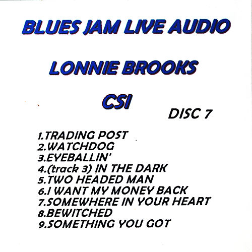 Play & Download Blues Jam Live Audio: Lonnie Brooks by Lonnie Brooks | Napster
