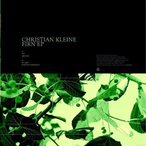 Play & Download Firn Ep by Christian Kleine | Napster