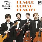 Play & Download Corelli / Bach / Telemann / Vivaldi:  Prague Guitar Quartet by Prague Guitar Quartet | Napster
