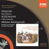 R. Strauss: Don Quixote/Schumann: Cello Concerto in A minor by Mstislav Rostropovich
