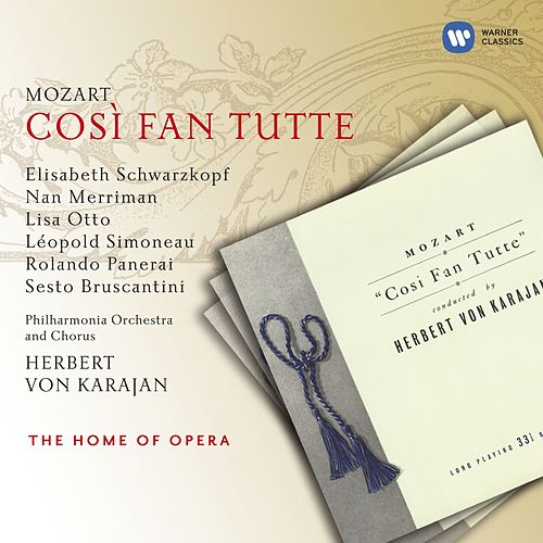 Mozart: Così fan tutte by Various Artists