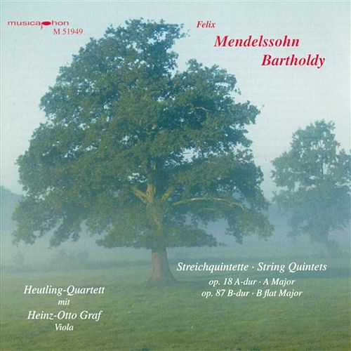 Play & Download Mendelssohn, Felix: String Quintets Nos. 1 and 2 by Heinz-Otto Graf | Napster