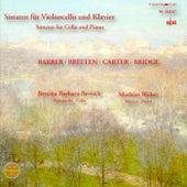 Cello Recital: Bertsch, Bettina Barbara - Barber, S. / Carter, E. / Bridge, F. / Britten, B. by Mathias Weber