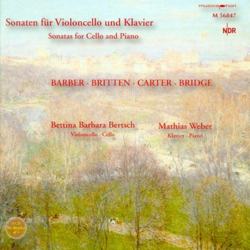 Play & Download Cello Recital: Bertsch, Bettina Barbara - Barber, S. / Carter, E. / Bridge, F. / Britten, B. by Mathias Weber | Napster