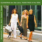 Play & Download Martin, F.: Trio Sur Des Melodies Populaires Irlandaises / Bloch, E.: 3 Nocturnes / Cassado, G.: Piano Trio (Piano Trios of the 1920S) by Kairos Trio | Napster