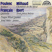 Poulenc / Milhaud / Ibert / Francaix:  Modern French Music for Wind Instruments by Various Artists