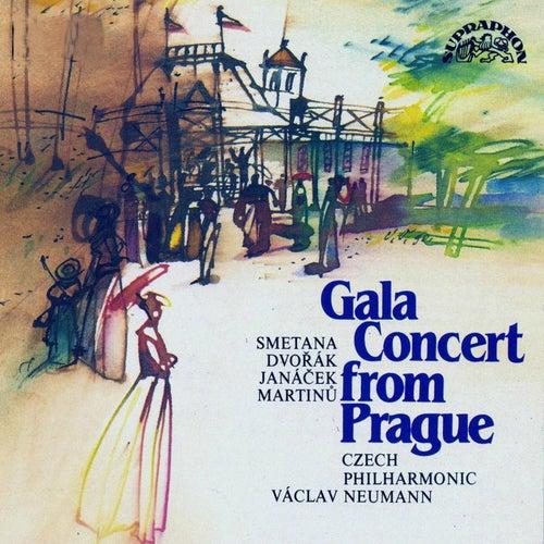 Smetana / Dvorak / Janacek / Martinu:  Gala Concert from Prague by Czech Philharmonic Orchestra