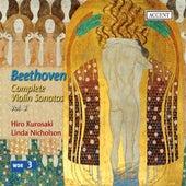 Beethoven: Complete Violin Sonatas, Vol. 3 by Linda Nicholson