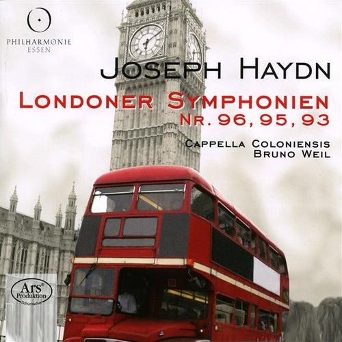 Haydn: Symphonies Nos. 93, 95 & 96 by Bruno Weil