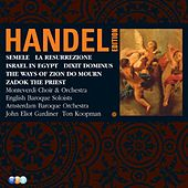 Handel Edition Volume 5 - Semele, Israel in Egypt, Dixit Dominus, Zadok the Priest, La Resurrezione, The Ways of Zion do Mourn by Various Artists