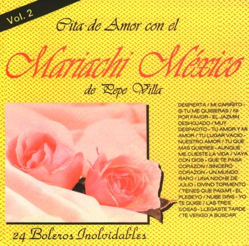 Cita de amor Vol. 2 by Mariachi Mexico De Pepe Villa