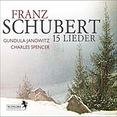 Schubert: 15 Lieder by Charles Spencer