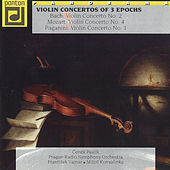 Bach, Mozart & Paganini: Violin Concertos of Three Epochs by Various Artists
