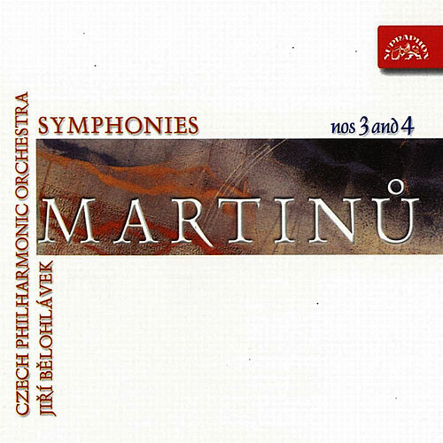Play & Download Martinu:  Symphony Nos 3 & 4 by Czech Philharmonic Orchestra | Napster
