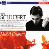 Schubert: Complete Piano Works, Vol. 11 by Michel Dalberto