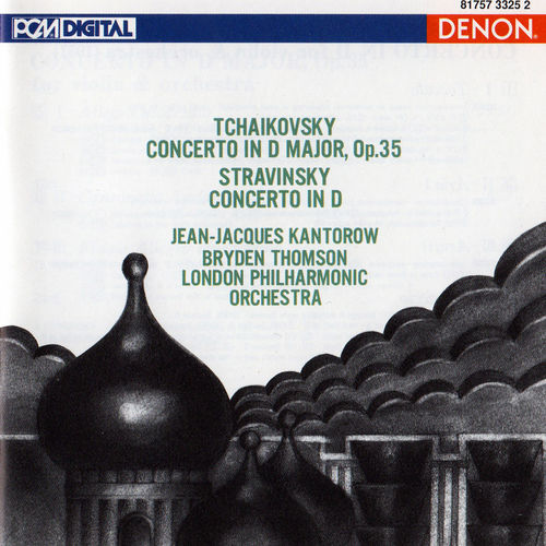 Play & Download Tchaikovsky: Violin Concerto in D Major - Stravinsky: Violin Concerto in D by London Philharmonic Orchestra | Napster