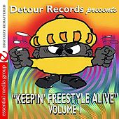 Detour Records Presents Keeping Freestyle Alive Vol. 1 (Digitally Remastered) by Various Artists