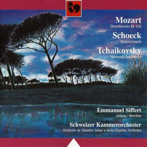 Play & Download Mozart - Schoeck - Tchaikovsky, Orchestre de chambre suisse by Anita Fatton | Napster