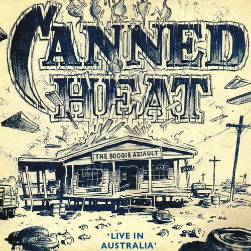 The Boogie Assault, Live In Australia by Canned Heat