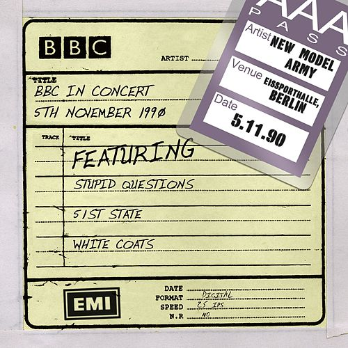 Play & Download BBC In Concert (5th November 1990) by New Model Army | Napster