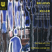 Play & Download Brahms & Reger: Clarinet Sonatas by Nicholas Cox | Napster