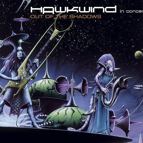 Out Of The Shadows by Hawkwind