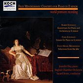 Mendelssohn: Piano Concerto Fragment In E; Piano Works By Clara & Robert Schumann & Fanny Mendelssohn by Jennifer Eley