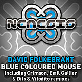 Blue Coloured Mouse by David Folkebrant