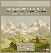 Mendelssohn Edition Volume 2 - String Symphonies and Concertos by Concerto Köln