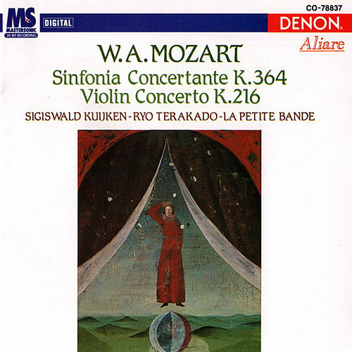Wolfgang Amadeus Mozart: Sinfonia Concertante & Violin Concerto by Ryo Terakado