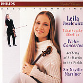 Play & Download Tchaikovsky/Sibelius: Violin Concertos by Leila Josefowicz | Napster