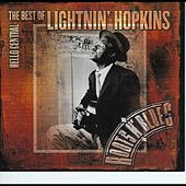 Play & Download The Best Of Lightnin' Hopkins by Lightnin' Hopkins | Napster